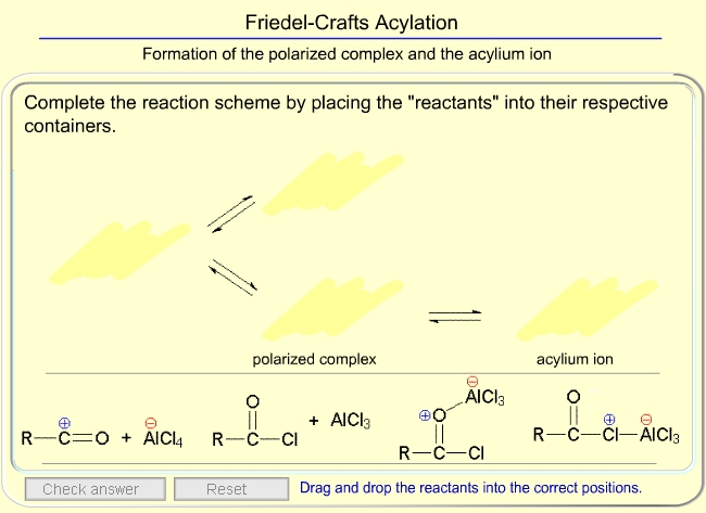 Reactions of Aromatic Compounds - Examples of Ar-SE Reaction